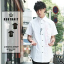 ◆It is spring and summer for men shirt casual shirt half-length sleeves 5 of REBTRAIT( レブトレイト) message print short sleeves shirt ◆ street American casual street origin in sleeve short sleeves shirt たけぞー brand skater skateboard fashion Men's samurai ELO s
