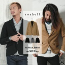 ◆ roshell (Rochelle) wool 2B tailored jacket ◆ brother system tailored jacket men's tailored jacket brother system jacket outerwear casual brother series fashion brother men's fashion coat Black Black autumn-winter winter