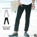 ◆Roshell heavy twill stretch skinny pants ◆ cool style/ Men's skinny pants/ color skinny/ men's bottoms pants/men's fashion/ men's clothing/ balack white