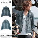 ◆ Roshell vintage denim jacket ◆ cool style/ Men's denim jacket/ jacket /men's jeans jacket / denim outer /men's fashion / spring item/ Short length