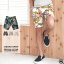 ◆ recycled cotton floral shorts ◆ shorts shorts mens shorts 7-lap short bread surf pants pants bottoms mens fashion brother brother of fashion leaf flower leaf resort spring spring clothes summer summer clothing spring summer