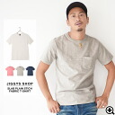 ◆ Pocket crew neck tee with tenjiku ◆ T shirt men's short sleeve sewn brother series T shirt short-sleeved solid five minutes sleeves short sleeve T shirt tops men's fashion brother brother series fashion spring summer spring summer