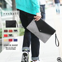 men's clutch bag◆roshell multi-colored clutch bag◆clutch/clutch bag/men's/ladies'/women's/school/school bag/party/formal/formal bag/A4 size/PU/leather/bag/men's fashion/business