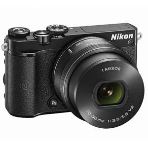 ニコン|Nikon 1 J5 標準 パワーズームレンズキット(ブラック)|N1J5-LK-BK