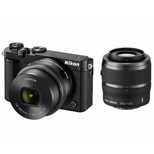ニコン|Nikon 1 J5 ダブルズームレンズキット(ブラック)|N1J5-WZ-BK