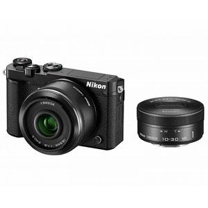 ニコン|Nikon 1 J5 ダブルレンズキット(ブラック)|N1J5-WLK-BK
