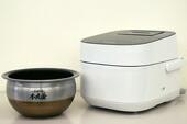 東芝 W真空圧力IHジャー炊飯器 『真空圧力かまど炊き』 RC-10VWG-K