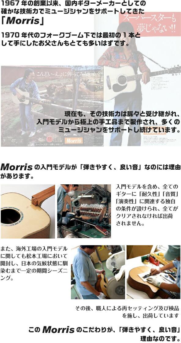 Morris (モーリス) アコースティックギター