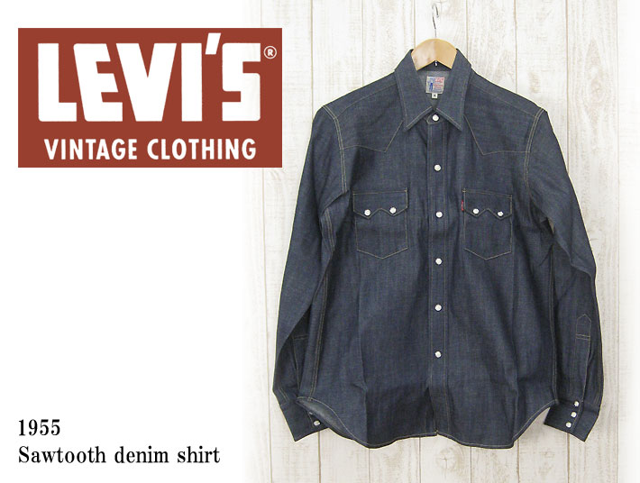 Casualshop joe rakuten global market levi 39 s vintage for Levis vintage denim shirt 1950 sawtooth slim fit