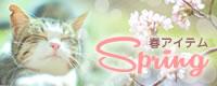 春のおすすめグッズ・スプリングアイテム