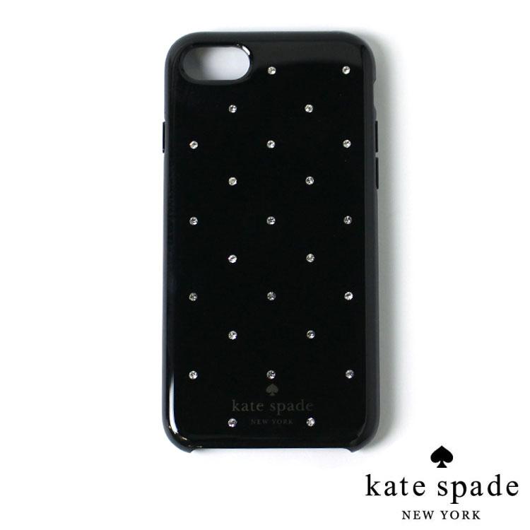 Kate Spadeラインストーン iPhone ケース