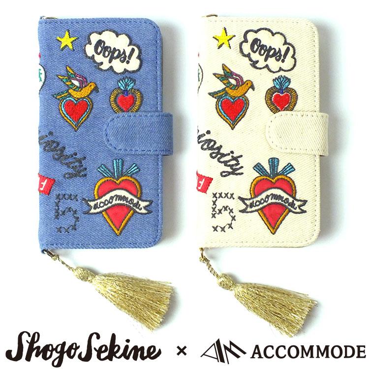 AccommodeコラソンiPhoneケース