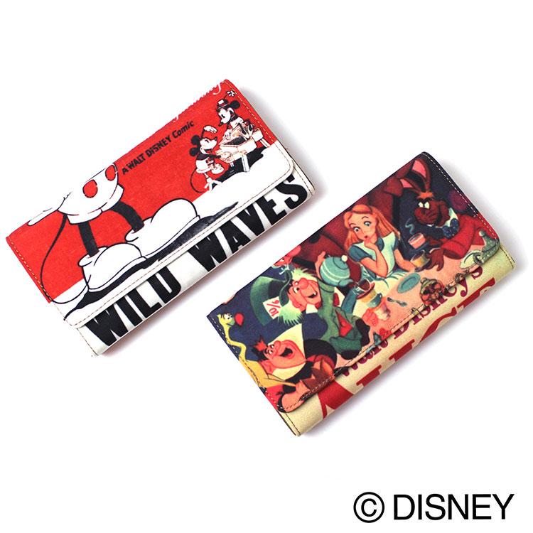 Disney/Accommodeディズニーポスターアートロングウォレット