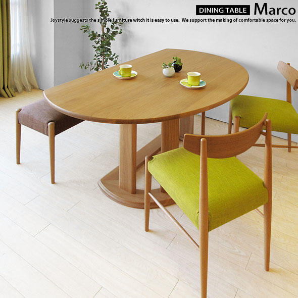 Half Round Table Counter Table Dining Table MARCO NA Chairs Sold