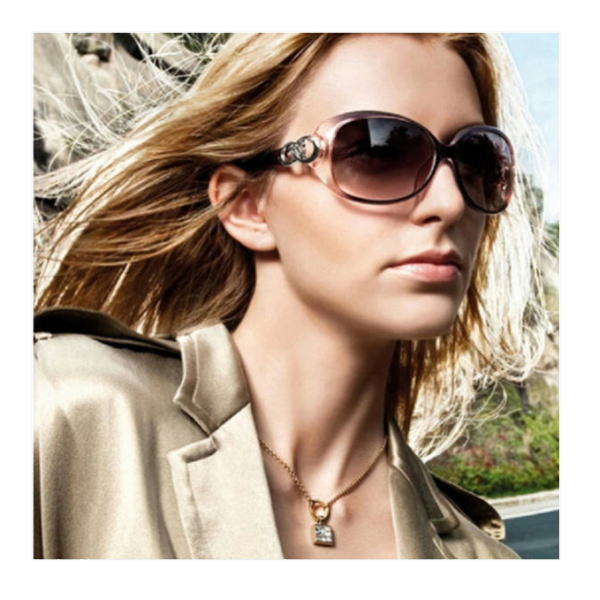 サングラス レディース デザイナーズ ファッションサングラス UV400 偏光レンズ カラー:ブラウン アイウエアー メガネ 今だけ!送料無料 通常納期2週間~