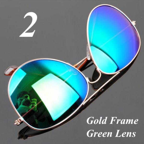 サングラス アビエイター デザイナーズ ファッションサングラス UV400 カラー:ゴールドフレーム/グリーンレンズ アイウエアー メガネ 今だけ!送料無料 【在庫限品】即納です。