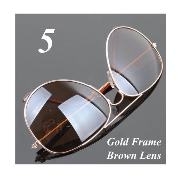 サングラス アビエイター デザイナーズ ファッションサングラス UV400 カラー:ゴールドフレーム/ブラウンレンズ アイウエアー メガネ 今だけ!送料無料 【在庫限品】即納です。