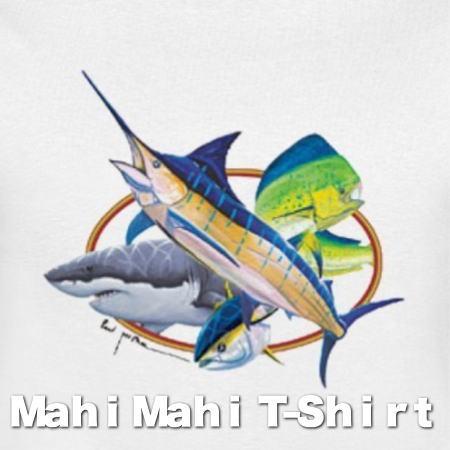 シイラTシャツ マヒマヒTシャツ 半袖Tシャツ Mahi MahiデザインTシャツ メンズTシャツ。