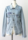 USED remake standard jacket denim UKR032B g Jean Lady's old clothes