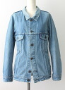 USED remake standard jacket denim UKR032C g Jean Lady's old clothes