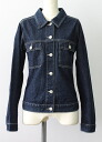 USED remake standard jacket denim UKR032D g Jean Lady's old clothes