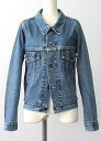 USED remake standard jacket denim UKR032G g Jean Lady's old clothes