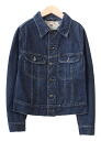 USED denim jackets denim jackets and cotton/g Jean / cotton / remake / thrift /USED