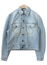 USED remake standard jacket denim UKR032D g Jean Lady's old clothes