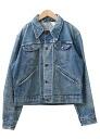 USED remake standard jacket denim UKR032G g Jean Lady's old clothes