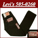ae06 brand new Levis 505 black denim jeans US line mens G bread Levis 505 Levi's