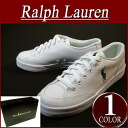 ai441 brand new POLO by RalphLauren leather sneaker Polo Ralph Lauren mens RALPH LAUREN White Leather sneaker