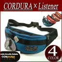 no181 new article CORDURA X Listener コラボレートナイロンウエストバッグコーデュラ X listener waist back American casual