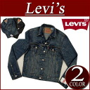 af151 brand new Levis サードタイプ denim jacket men's Levi's THE TRUCKER 70797-0001 DARK SUMMIT 3RD TIPE DENIM JACKET Tracker G Jean denim casual Levi's