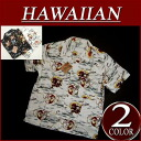 ws012 new Fujin Raijin short sleeve rayon Japanese pattern Aloha shirts men's Hawaiian shirts Aloha
