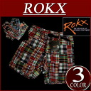 rx281 brand new ROKX rocks Indian Madras check patchwork climbing shorts men's casual RXM022 PATCHWORK SHORT climbing pants shorts shorts outdoors