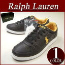 ax192 brand new POLO by Ralph Lauren HERNANDO soft leather x mesh low cut sneakers mens black × yellow shoes RalphLauren Polo Ralph Lauren