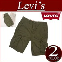 ax441 brand new Levis US line ACE I CARGO SHORTS Ripstop cotton 6-Pocket cargo shorts mens Levi's IVY GREEN RIPSTO カーゴショーツ half pants Levi's