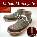 fw261 new article Indian Motocycle CREPE crepe sole fake fur NEP place reshuffling native moccasins chukka boots ID -1223 men's & レディースインディアンモトサイクルスニーカーチャッカーブーツ IndianMotocycle