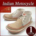 fw381 brand new Indian Motocycle CREPE crepe sole fabric / leather hemp ground switch native moccasins chukka boots ID-1253 men's インディアンモト cycle sneakers chukka boots IndianMotocycle