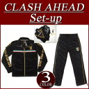 ix901 new article Clash Ahead lily crest logo lam print velour jersey top and bottom set men setup jersey top and bottom all-in-one