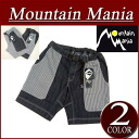 mm232 new article MOUNTAIN MANIA BAKER SHORT hickory stripe reshuffling denim Baker short pants climbing underwear 41700097 men's mountain enthusiast American casual OUTDOOR panties half underwear