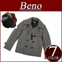 brand new Beno nw682 65% wool authentic! Solid color wool Melton short P coat mens peacoat shadow stripe lining jacket casual shorts