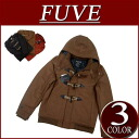 Duffel coat men stripe lining jacket American casual shortstop with nw922 new article FUVE plain fabric melton wool shortstop length batting
