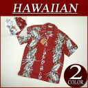 wu233 brand new floral border short sleeve rayon 100% Hawaiian shirts mens Aloha Hawaiian shirt (big size there!)