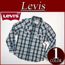 ay461 new article Levis long sleeves check western shirt men US line Levis WESTERN SNAP FRONT LS SHIRT LEGION BLUE Levi's