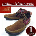fw431 new article Indian Motocycle LUMBEE lamb B sole fabric X leather corduroy checked pattern reshuffling native moccasins chukka boots ID -629A men's & レディースインディアンモトサイクルスニーカー