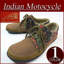 fw441 new article Indian Motocycle fabric X leather native pattern reshuffling native moccasins boots ID -688A メンズインディアンモトサイクルローカットスニーカーブーツ IndianMotocycle