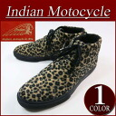 fw511 new article Indian Motocycle FLAG flag sole panther pattern fake fur chukka boots ID -639A メンズミッドカットスニーカーレオパードブーツチャッカーブーツインディアンモトサイクル IndianMotocycle