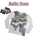 ia182 new article BULLET NOISE size dragon sum crest lam print sum pattern Ron T men long sleeves sum pattern T-shirt Ron tea
