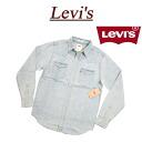 af074 new article Levis denim western shirt men US line Levis CLASSIC DENIM BARSTOW WESTERN SHIRT NEW AGE BREACH long sleeves denim shirt work shirt Levi's